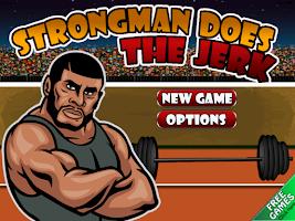 Screenshot of Strongman Does the Jerk Free