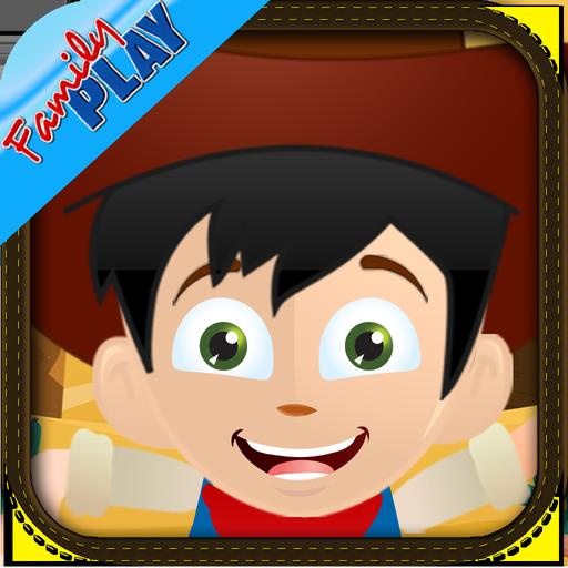 Cowboy Toddler Kids Games Full 教育 App LOGO-APP試玩