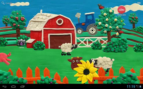 Plasticine Farm Free LWP