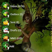 Fairy GO SMS Theme