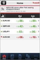 Screenshot of Trader24 Mobile Trader