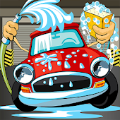 Car wash salon spa – Kids game