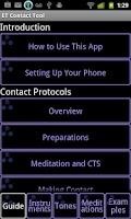 Screenshot of ET Contact Tool