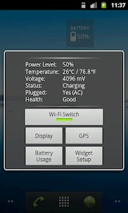 Nice Simple Battery (Widget)- screenshot thumbnail
