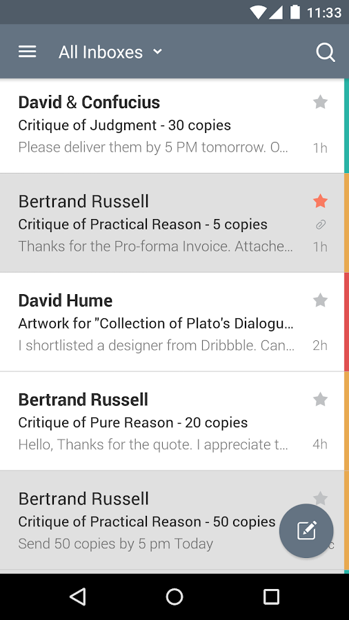 CloudMagic Email - screenshot