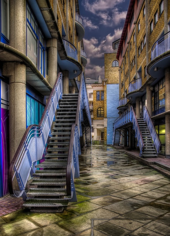 The Stairs by Krasimir Lazarov - Buildings & Architecture Architectural Detail ( urban, london, architectural detail, streets )