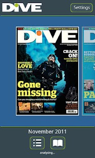 DIVE Magazine - screenshot thumbnail