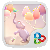 Elephant GO Launcher Theme
