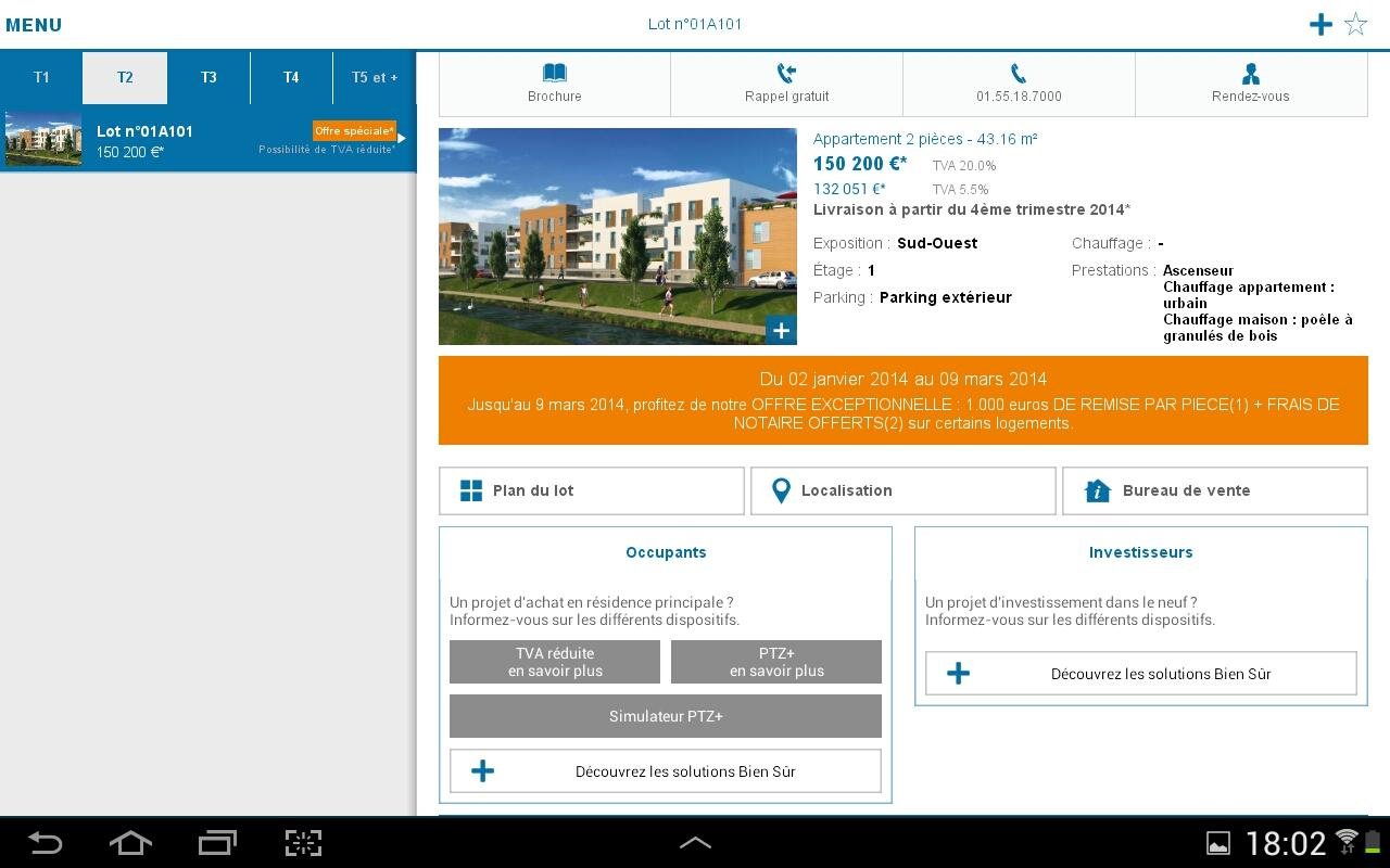 Bouygues Immobilier- screenshot