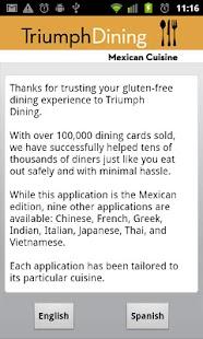 Gluten Free Mexican- screenshot thumbnail