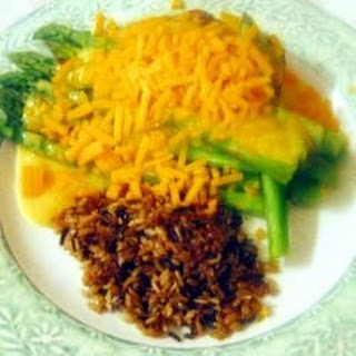 Asparagus Chicken.