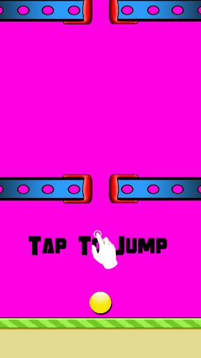 Tap the ball