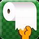 トイレットペーパー引っ張り Android
