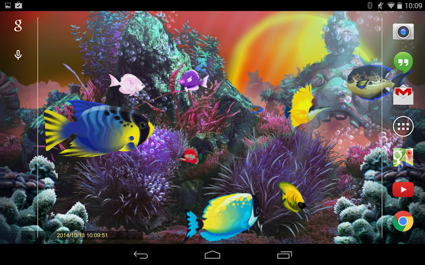 exotic aquarium 3d lwp pro android apps on google play. Black Bedroom Furniture Sets. Home Design Ideas