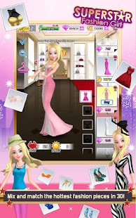 Superstar Fashion Girl - screenshot thumbnail