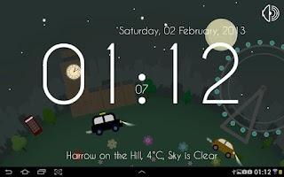 Screenshot of Motion Clock: London