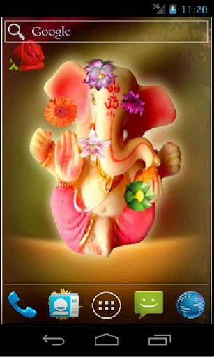 Ganesha HD Live Wallpaper by Supreme Droids (Google Play, United States) - SearchMan App Data & Information