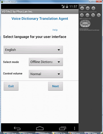 Offline Voice DictionTranslate