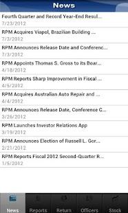 RPM Investor Relations- screenshot thumbnail