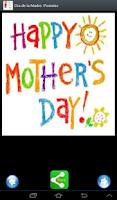 Screenshot of Mother's Day. Selfie Postcards