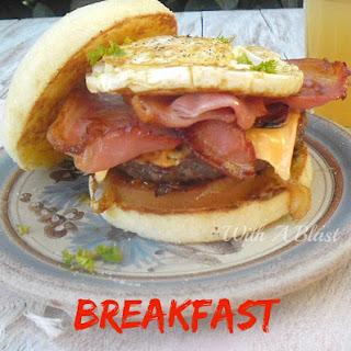 Breakfast Burger Recipes.