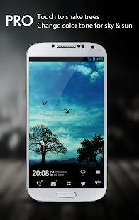 Blue Sky Free Live Wallpaper- screenshot thumbnail