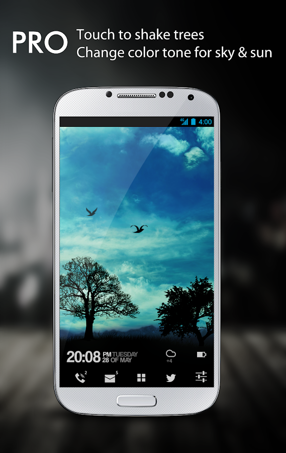 Blue Sky Free Live Wallpaper- screenshot