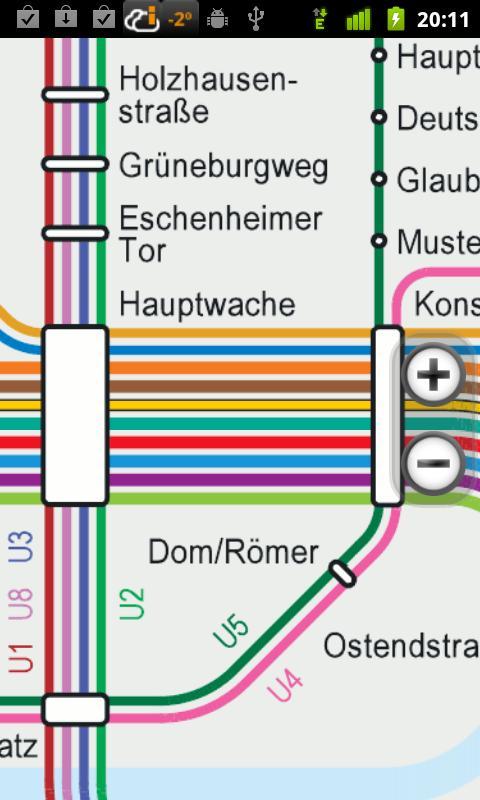 Оффлайн карта метро