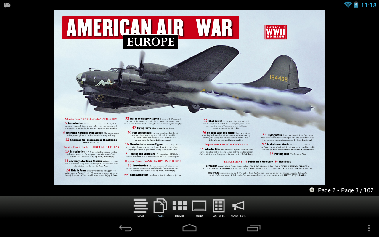 AMERICA IN WWII Special Issues- screenshot