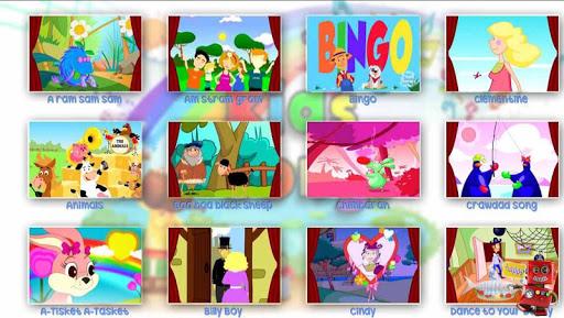 Kids songs app