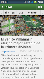 Real Betis Fiebrebetica - screenshot thumbnail