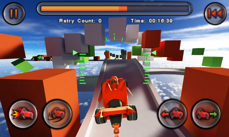 Jet Car Stunts Screenshot