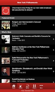 New York Philharmonic - screenshot thumbnail