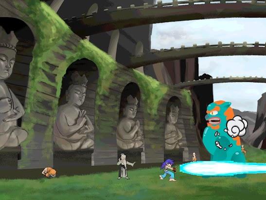 Wushu Hero Stick Craft Runner screenshot