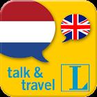 Dutch talk&travel icon
