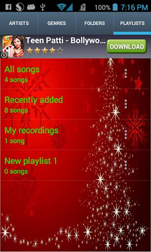 Christmas Theme Music Player