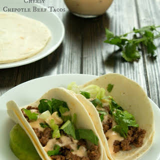 Slow Cooker Cheesy Beef Tacos.