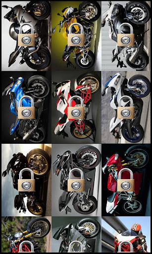 Motorcycle Puzzle Jupe
