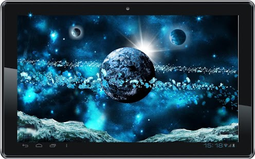 Space Ice World live wallpaper - screenshot thumbnail