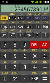 RealCalc Scientific Calculator Screenshot 1