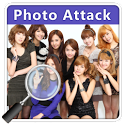 Girls Generation Photo Attack icon