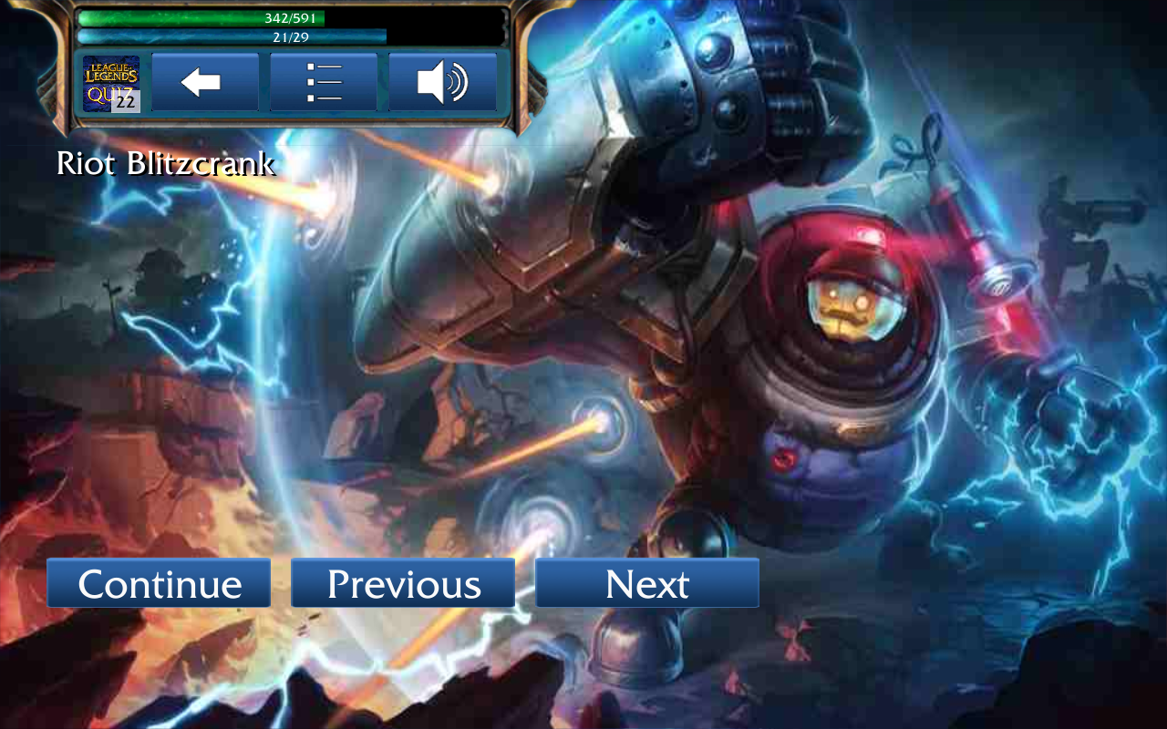 LoL Champion Quiz - screenshot