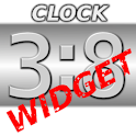 Metal Look Clock Widget icon