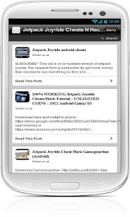 Jetpack Joyride Cheats N Hacks - screenshot thumbnail