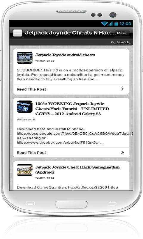 Jetpack Joyride Cheats N Hacks - screenshot