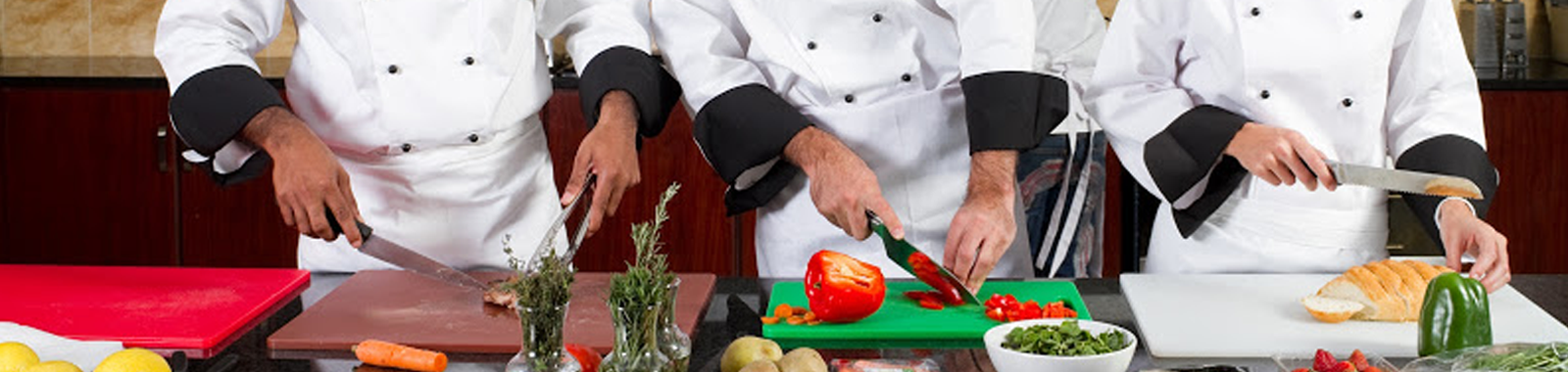 High quality chefs wear