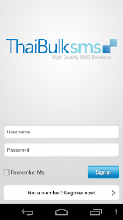 ThaiBulkSMS.COM- screenshot thumbnail