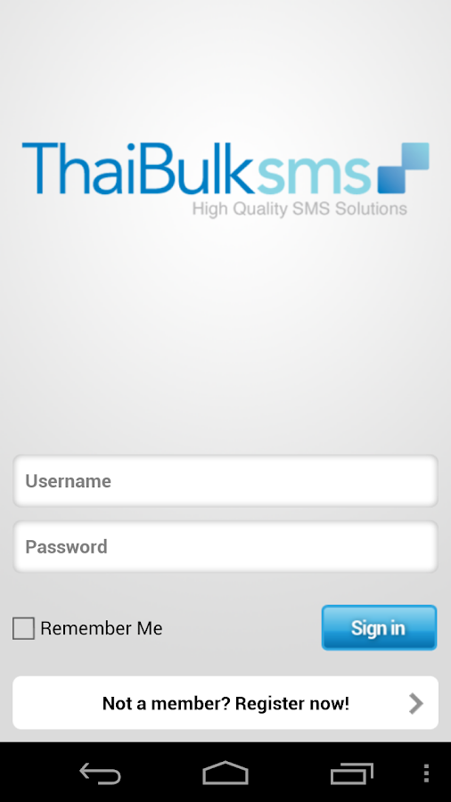 ThaiBulkSMS.COM- screenshot