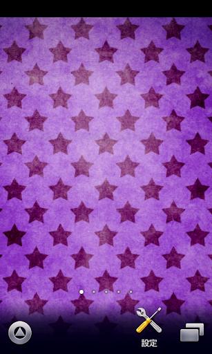 グランジな星柄♪【スマホ待ち受け壁紙】