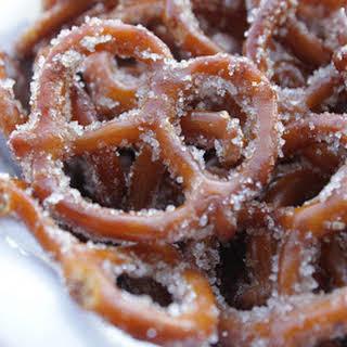 Yummy Cinnamon Sugar Pretzels.
